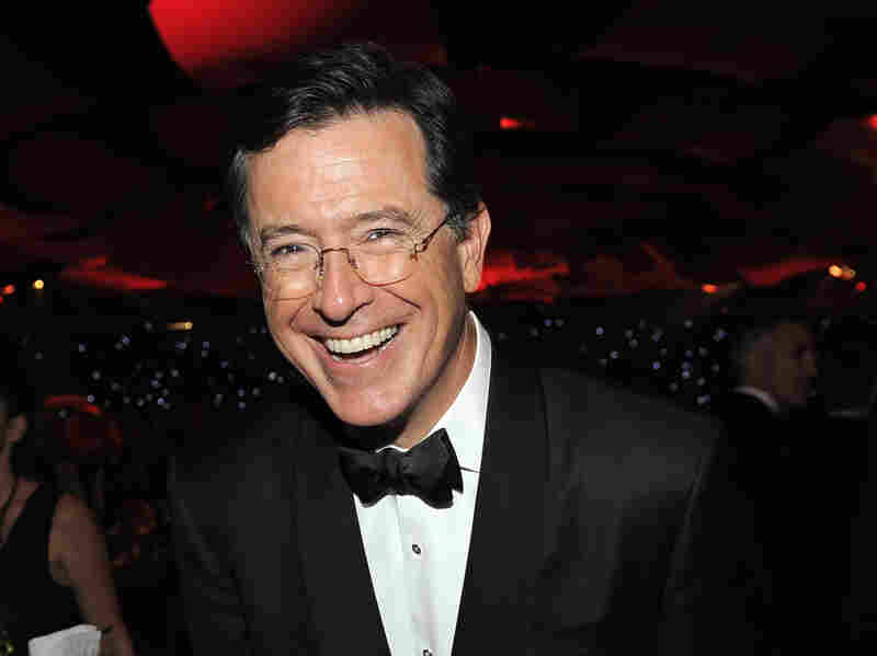 From one white guy to another: Stephen Colbert will replace David Letterman as host of The Late Night Show.