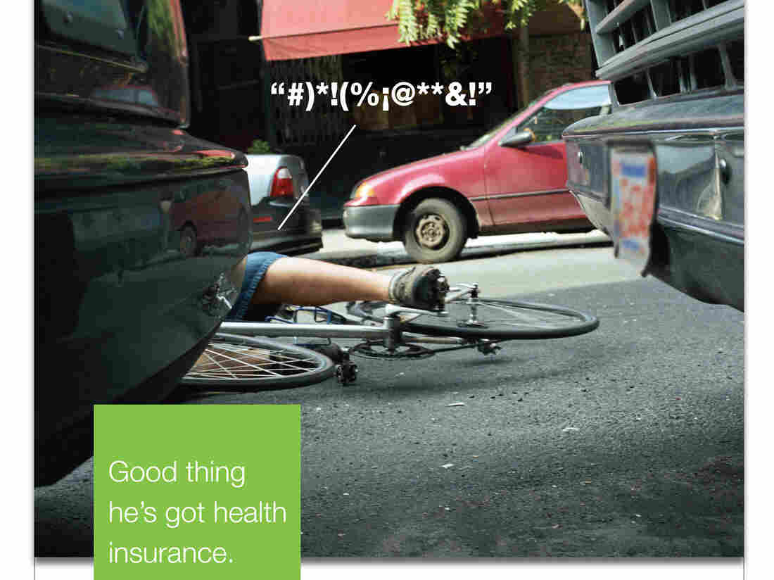 A 2008 ad trying to convince uninsured Massachusetts residents to get signed up for health insurance.