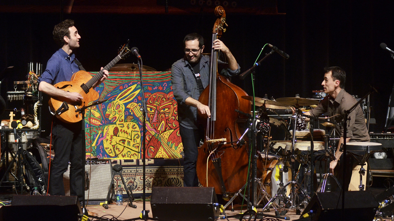 The Julian Lage Trio On Mountain Stage