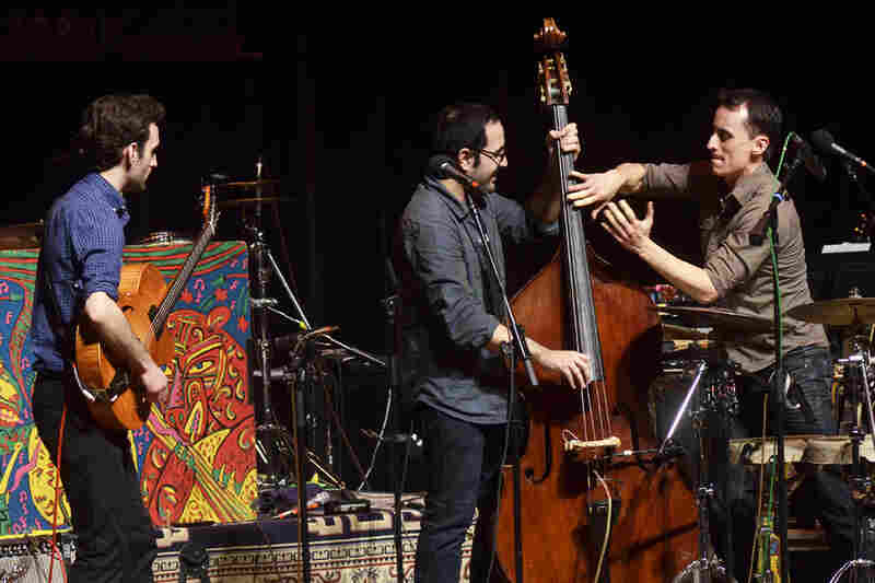 Today, Lage performs with percussionist Tupac Mantilla and bassist Jorge Roeder.