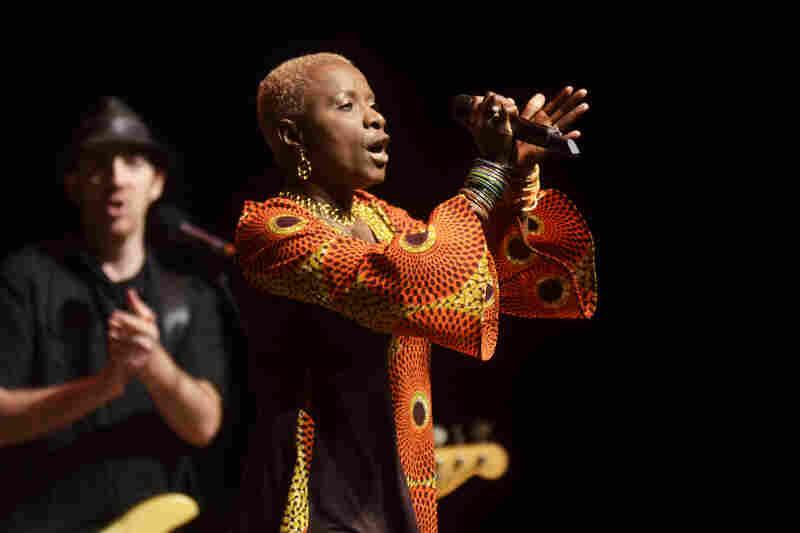Kidjo has collaborated with Dave Matthews, Carlos Santana, John Legend and more.
