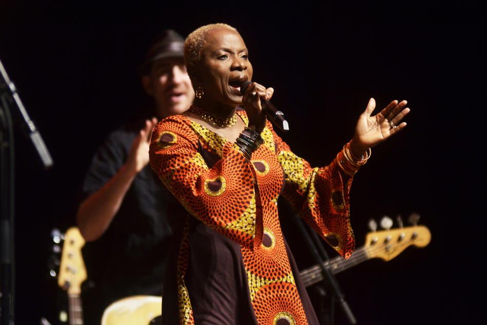 The Guardian named Kidjo one of Top 100 Most Inspiring Women in the World. (Mountain Stage)