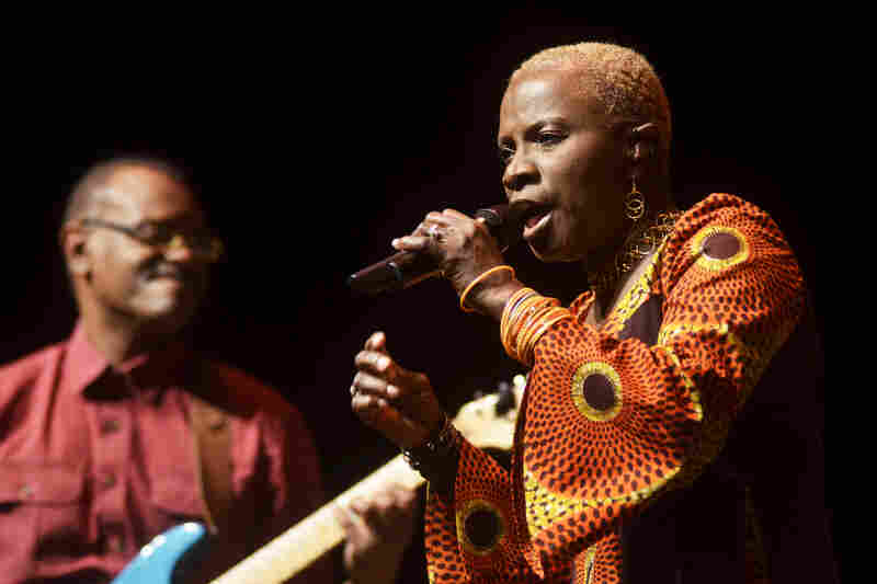 "In today's show, Kidjo pays homage to Miriam Makeba with a cover of the hit song ""Pata Pata."""