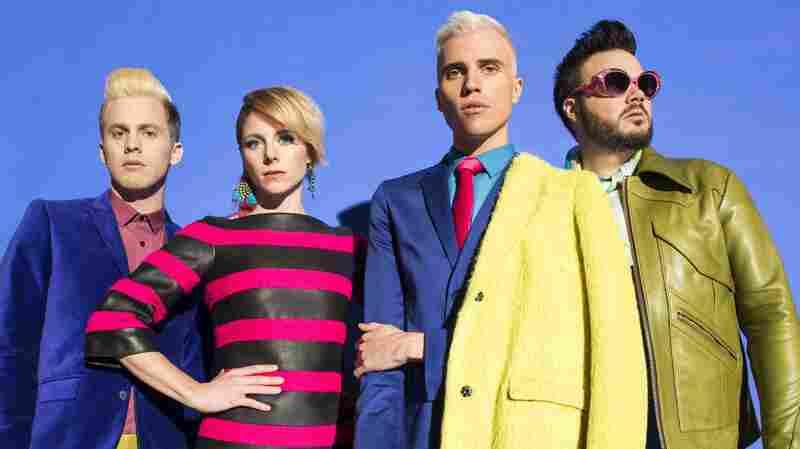 Neon Trees' new album is called Pop Psychology.