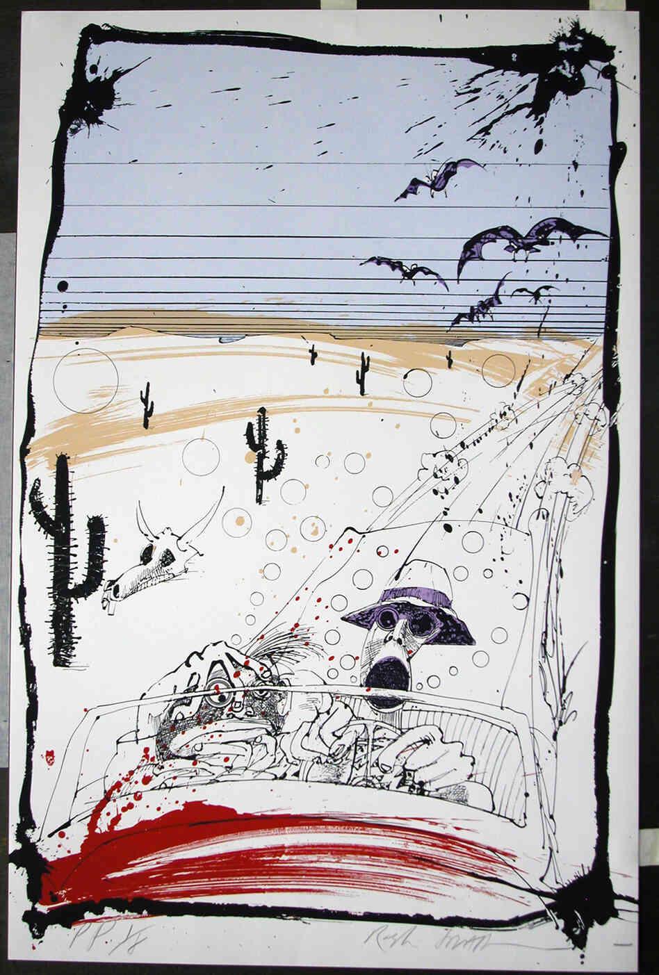 Ralph Steadman Original Paintings For Sale
