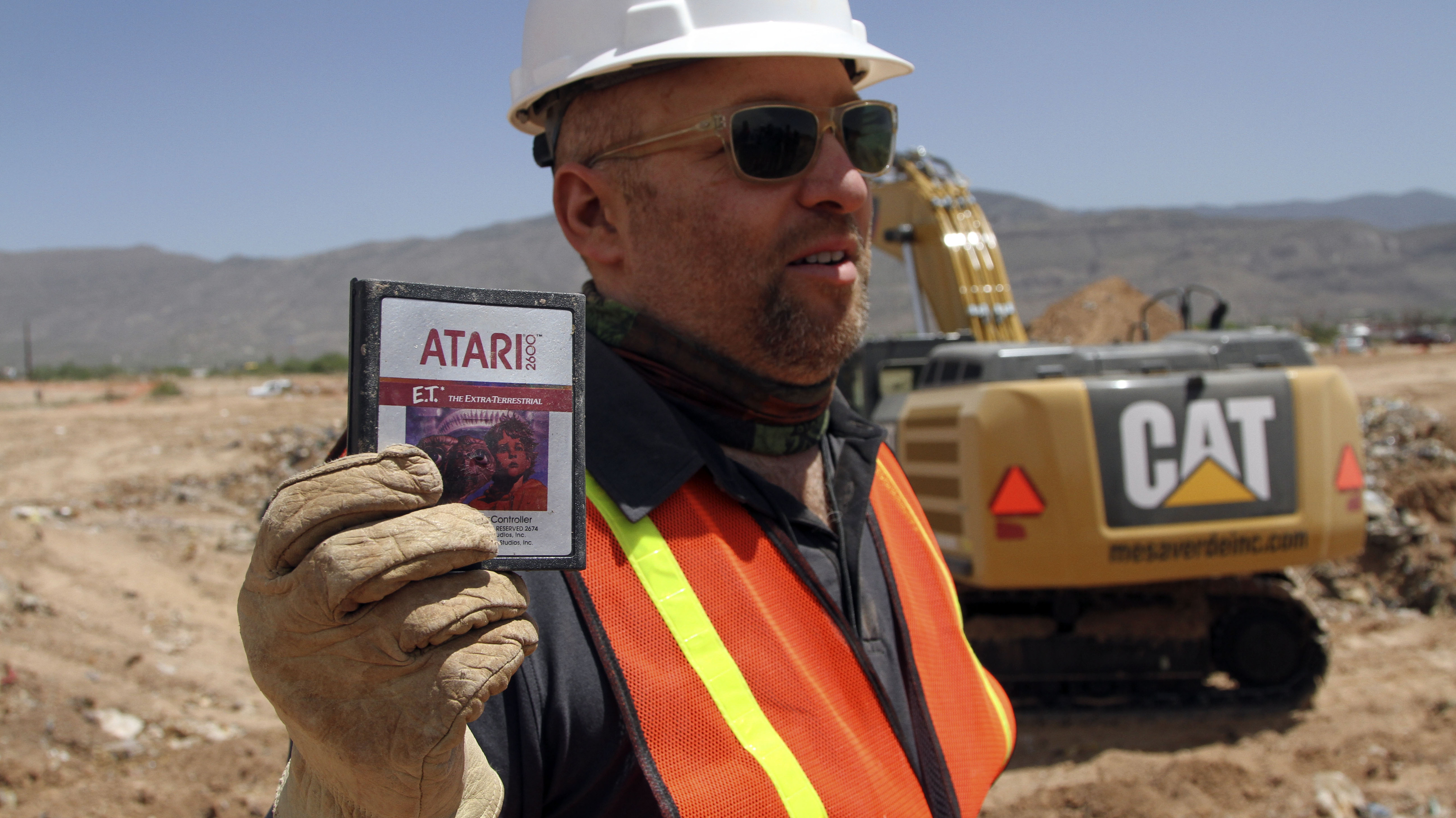 E.T.'s Home Is Found: Trove Of Atari Games Unearthed At Landfill