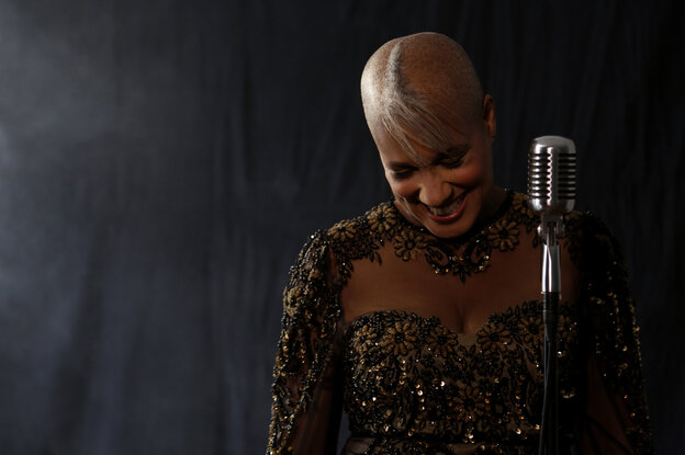 Jazz singer René Marie's latest release is I Wanna Be Evil: With Love to Eartha Kitt.