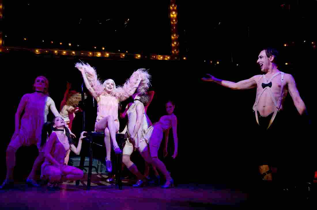 "Alan Cumming describes his costume in Cabaret as ""almost a cantilever system to hike up my manhood, if you will. ... It's sort of like a Wonder Bra for the male junk."""