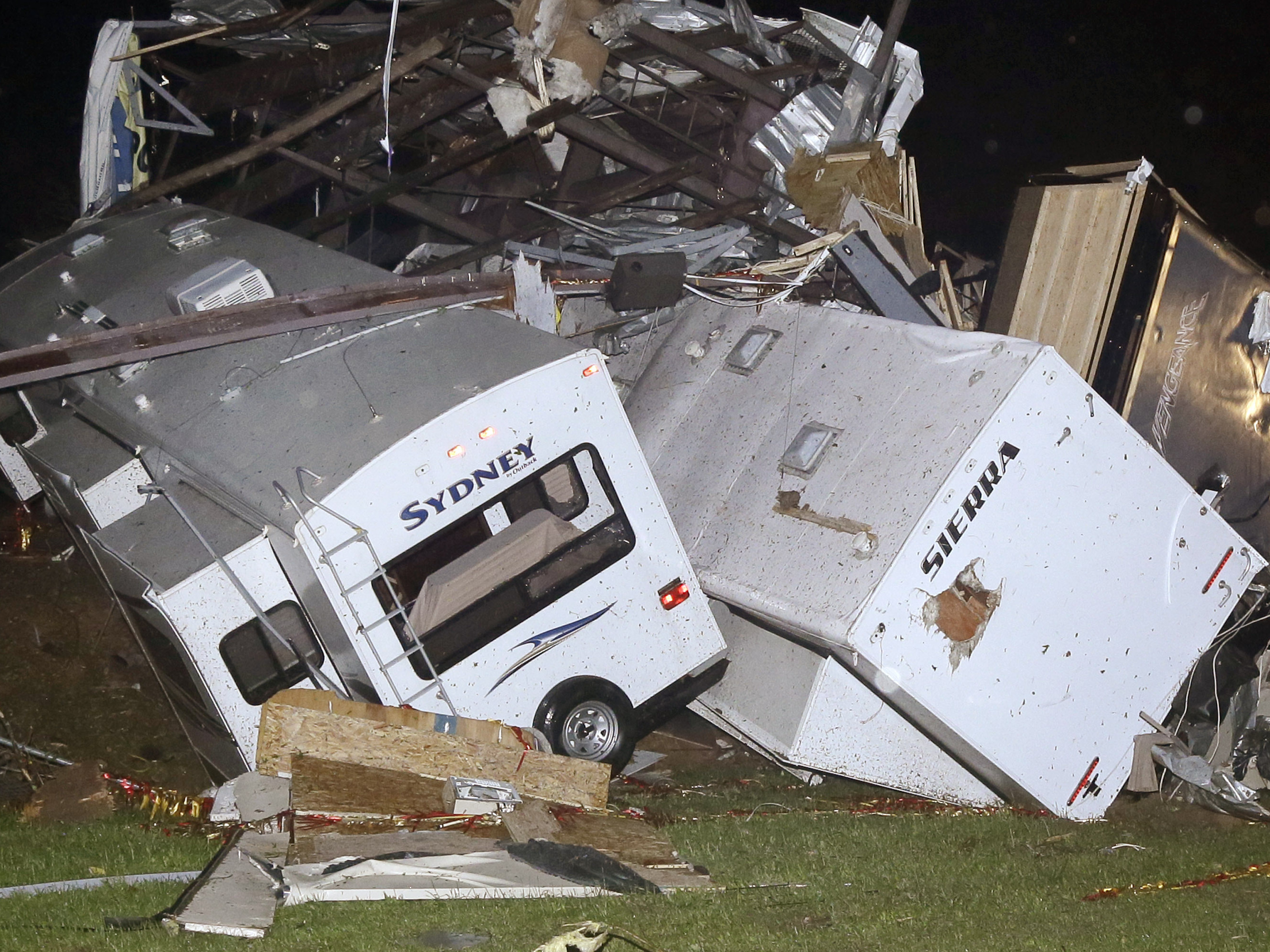 Killer Tornadoes Rip Through Arkansas, Oklahoma