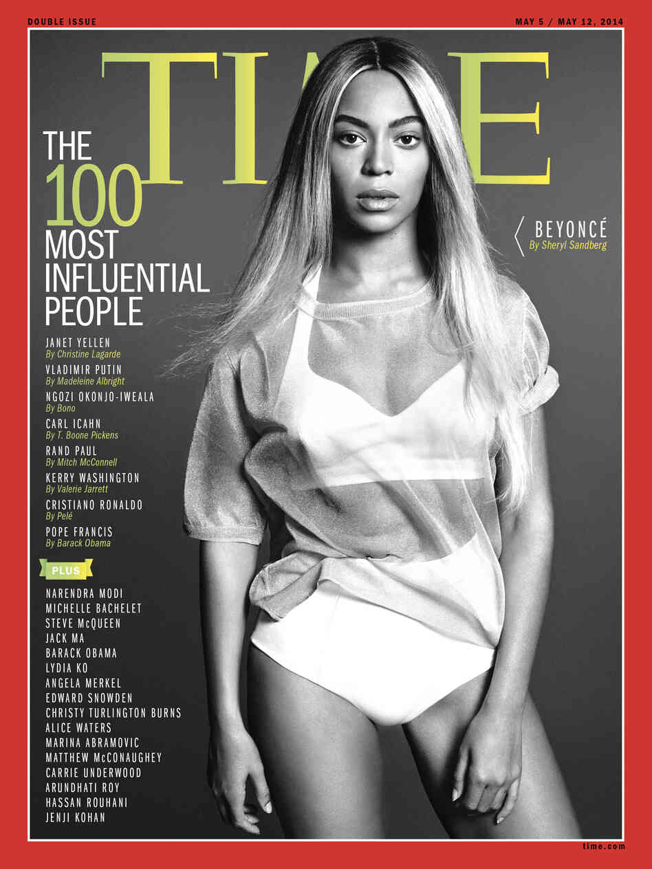 Who Runs The World? 'Time' Magazine Says Beyoncé : Code Switch : NPR