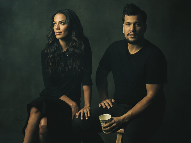 """The longer you're out on the road, it gets nicer to have [Abner Ramirez] there. Because he's the closest thing to home I have,"" Johnnyswim's Amanda Sudano says. ""Home is where he is."""