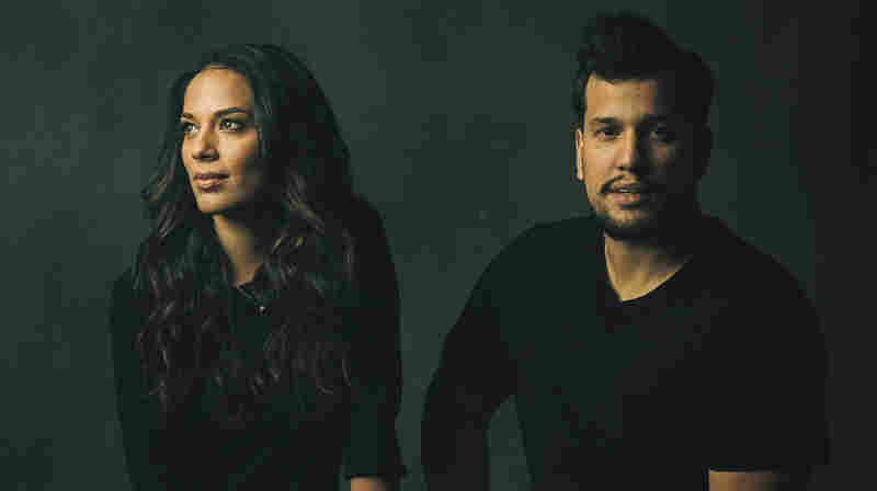 """""""The longer you're out on the road, it gets nicer to have [Abner Ramirez] there. Because he's the closest thing to home I have,"""" Johnnyswim's Amanda Sudano says. """"Home is where he is."""""""
