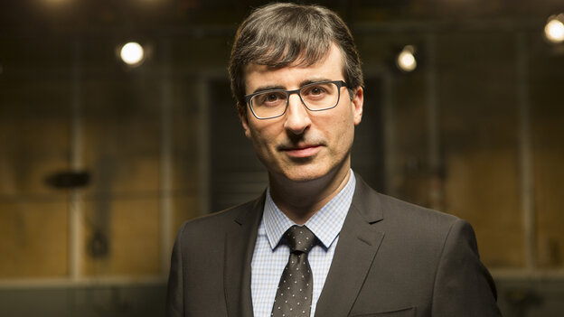 John Oliver's new show, Last Week Tonight, debuted Sunday on HBO.
