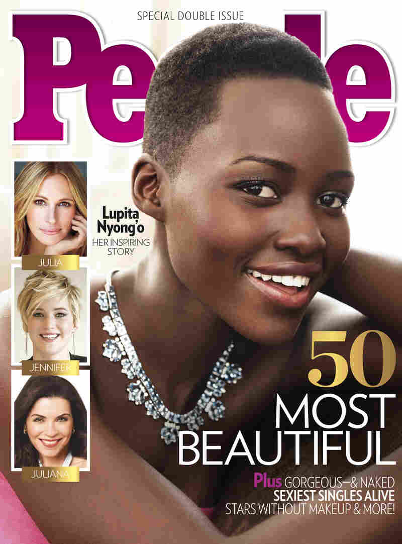 "Lupita Nyong'o was recently featured on the cover of People Magazine's ""World's Most Beautiful"" issue."