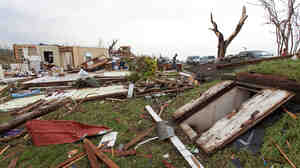 Tornadoes killed at least 17 people on Sunday an