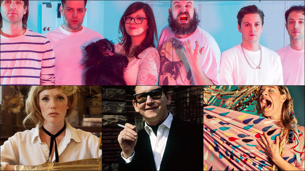 Top row: F---ed Up; Bottom row, left to right: Haley Bonar, Roy Orbison, tUnE-yArDs (Courtesy of the artist)