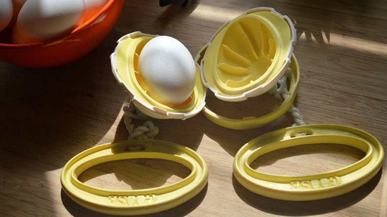 Innovation: A Gadget That Scrambles The Egg Inside The Shell