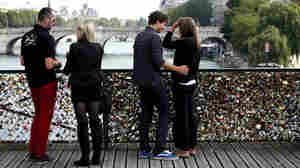 In The City Of Love, There's No Love Lost For Tourists' Love Locks