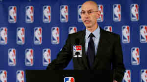 NBA Commissioner Adam Silver announces a lifetime ban and a $2.5 million fine for Los Angeles Clippers owner Donald Sterling Tuesday. Silver said the league verified an audio recording of Sterling making racist remarks.