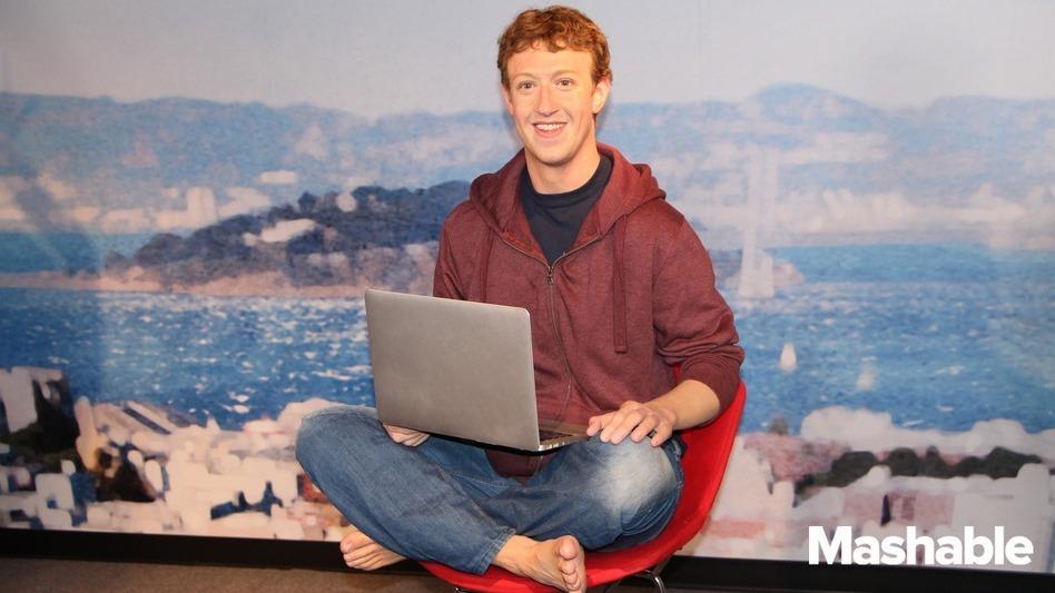 Check Out The Barefoot Wax Sculpture Of Mark Zuckerberg