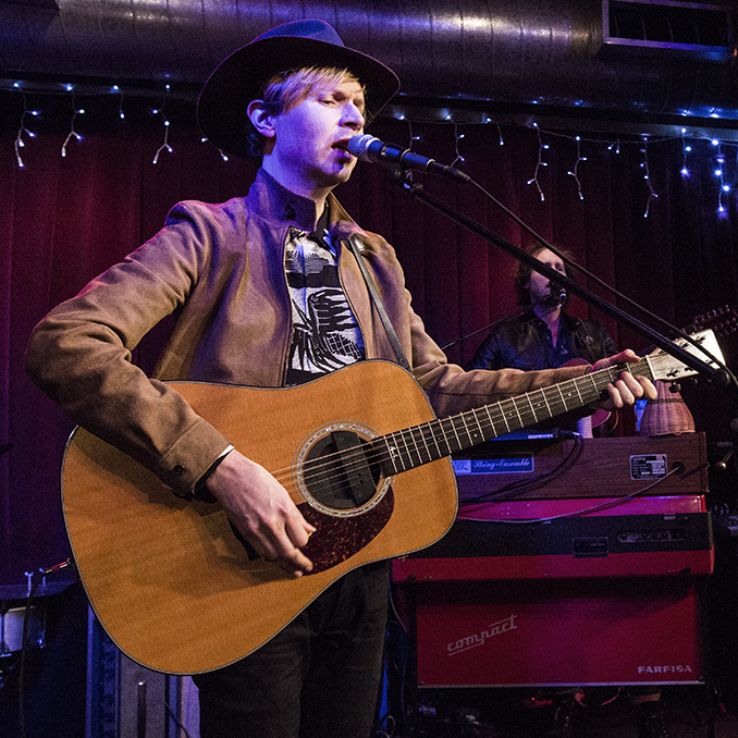 Beck performs a special show at Apogee Studios for KCRW.