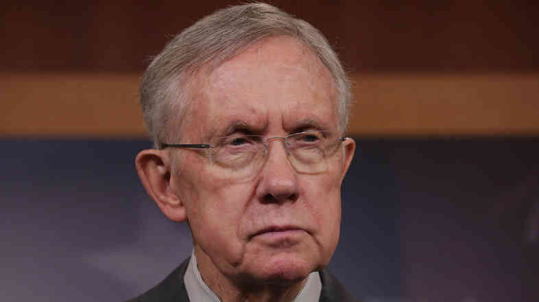 Senate Majority Leader Harry Reid, a Democrat from Nevada.