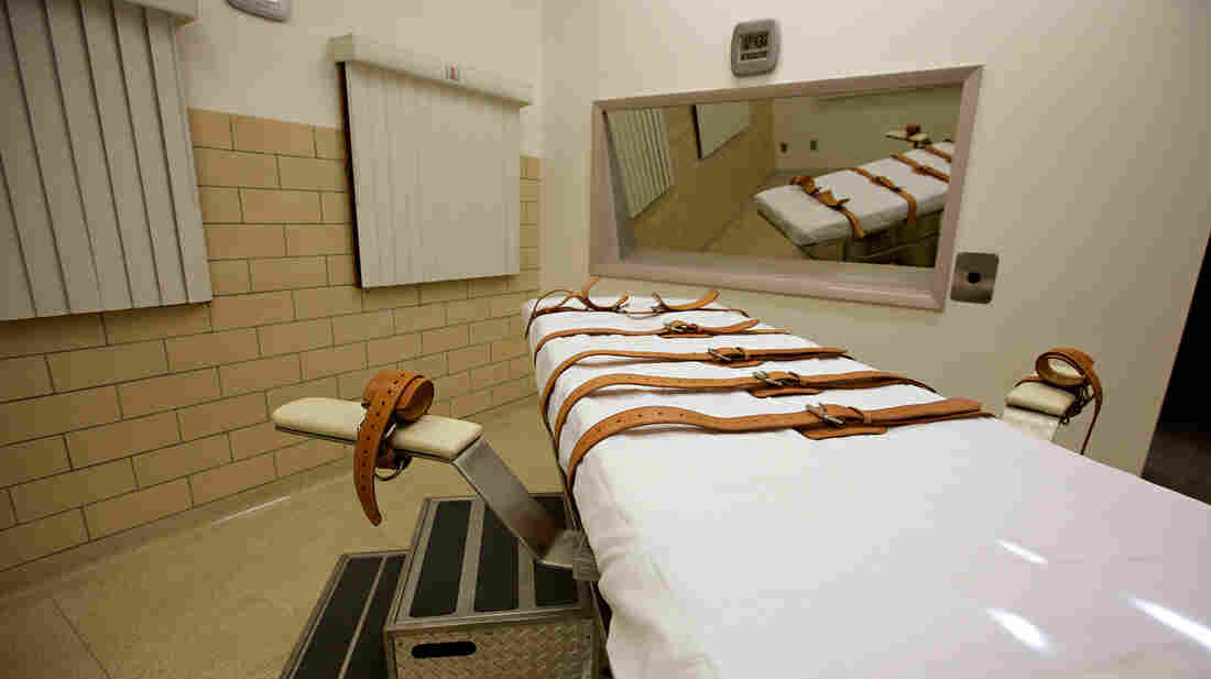 The lethal injection chamber of the South D