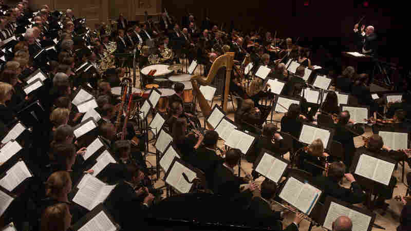 Every inch of the immense Carnegie Hall was filled with musicians as music director Robert Spano leads his Atlanta Symphony Orchestra and Chorus in Benjamin Britten's stunning War Requiem.
