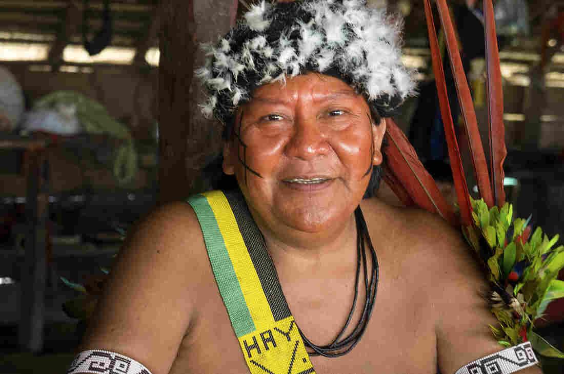 Shaman Davi Kopenawa Yanomami is an advocate for his people and president of the Hutukara Yanomami Association.