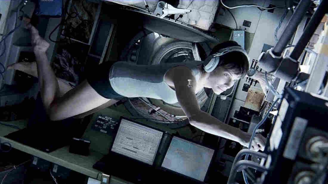 Author Tess Gerritsen says Warner Bros. owes her 2.5 percent of the profits from the movie Gravity, starring Sandra Bullock and George Clooney.