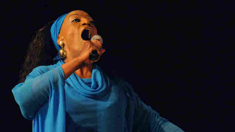 Jessye Norman performs late on June 6, 2008 during the 14th Sacred World Music Festival.