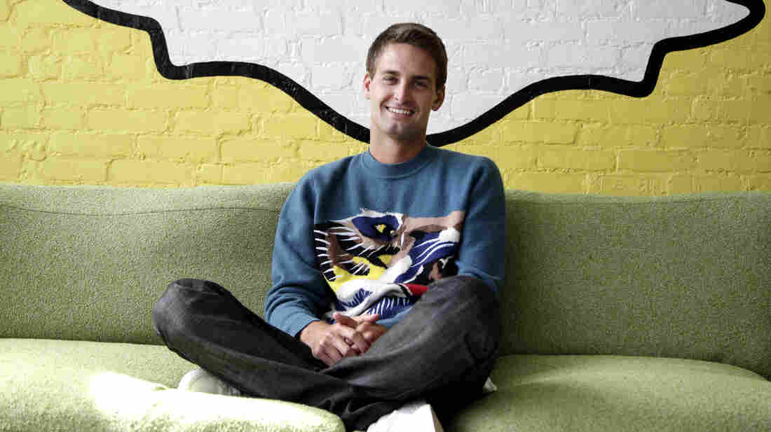 Evan Spiegel  is the CEO of Snapchat. The company recently