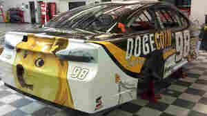 Doge At 'Dega: Dogecoin Sponsors Race Car
