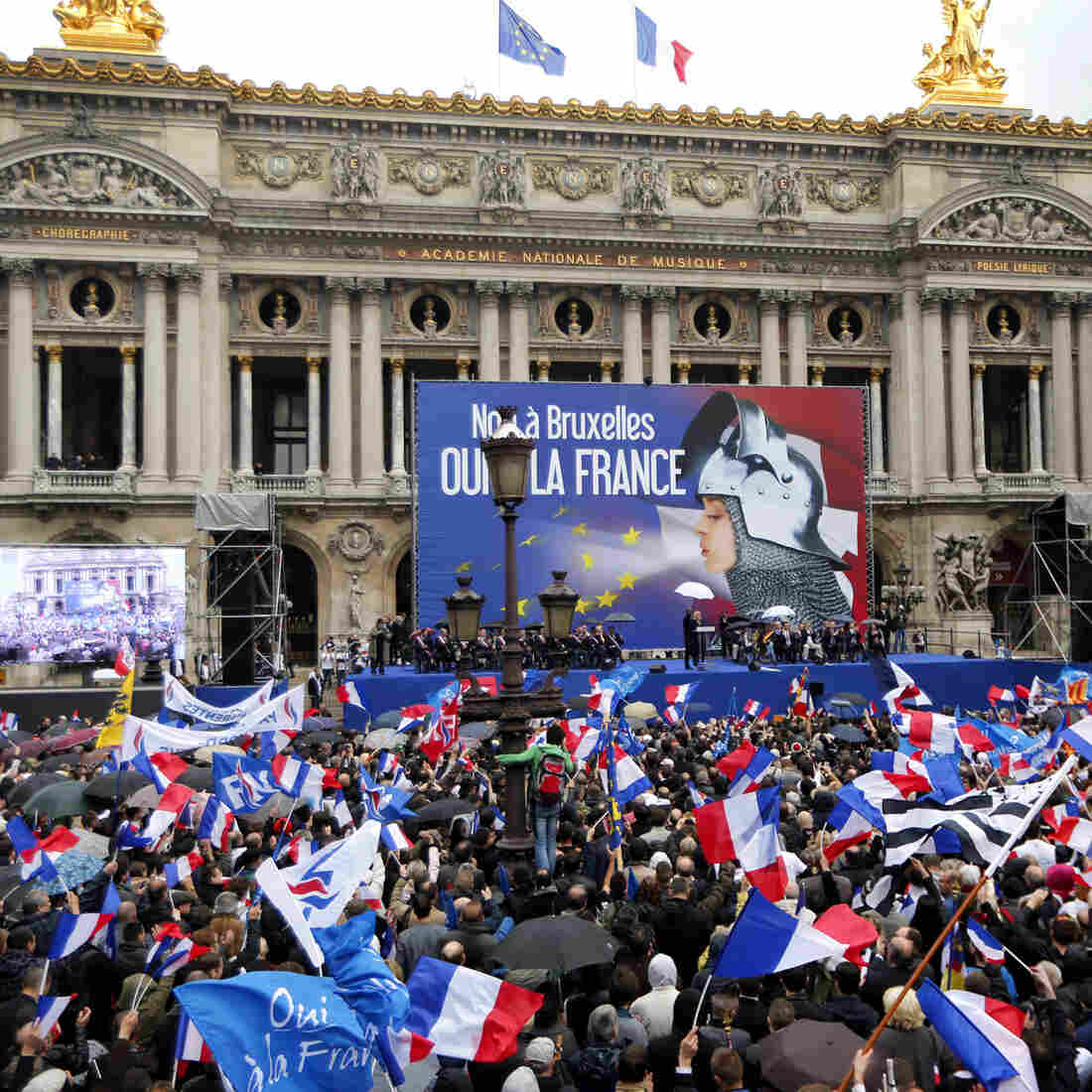 France's Far-Right's High Hopes On May Day Display
