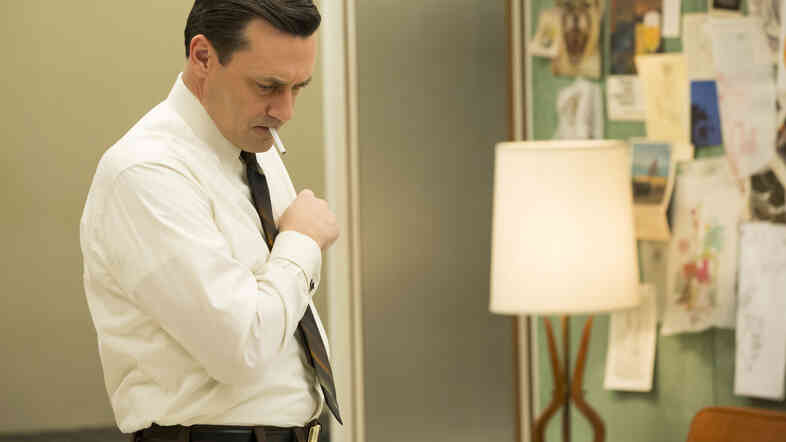 Matthew Weiner says sometimes he wakes up in the middle of the night wondering if there'd even be a Mad Men without Jon Hamm, who plays Don Draper.