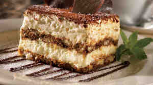 At 820 calories, Maggiano's tiramisu packs in more than the tiramisu served at Olive Garden (510 calories) or Macaroni Grill (690 calories). But it pales in comparison with the version served at Carrabba's, which has 1,060 calories.