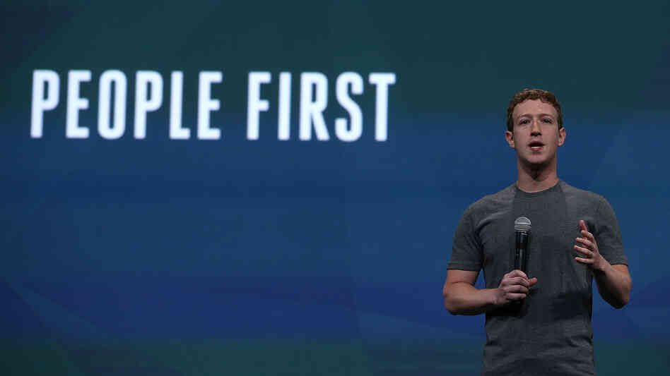Mark Zuckerberg kicks off the annual Facebook developers conference in San Francisco on Wednesday.