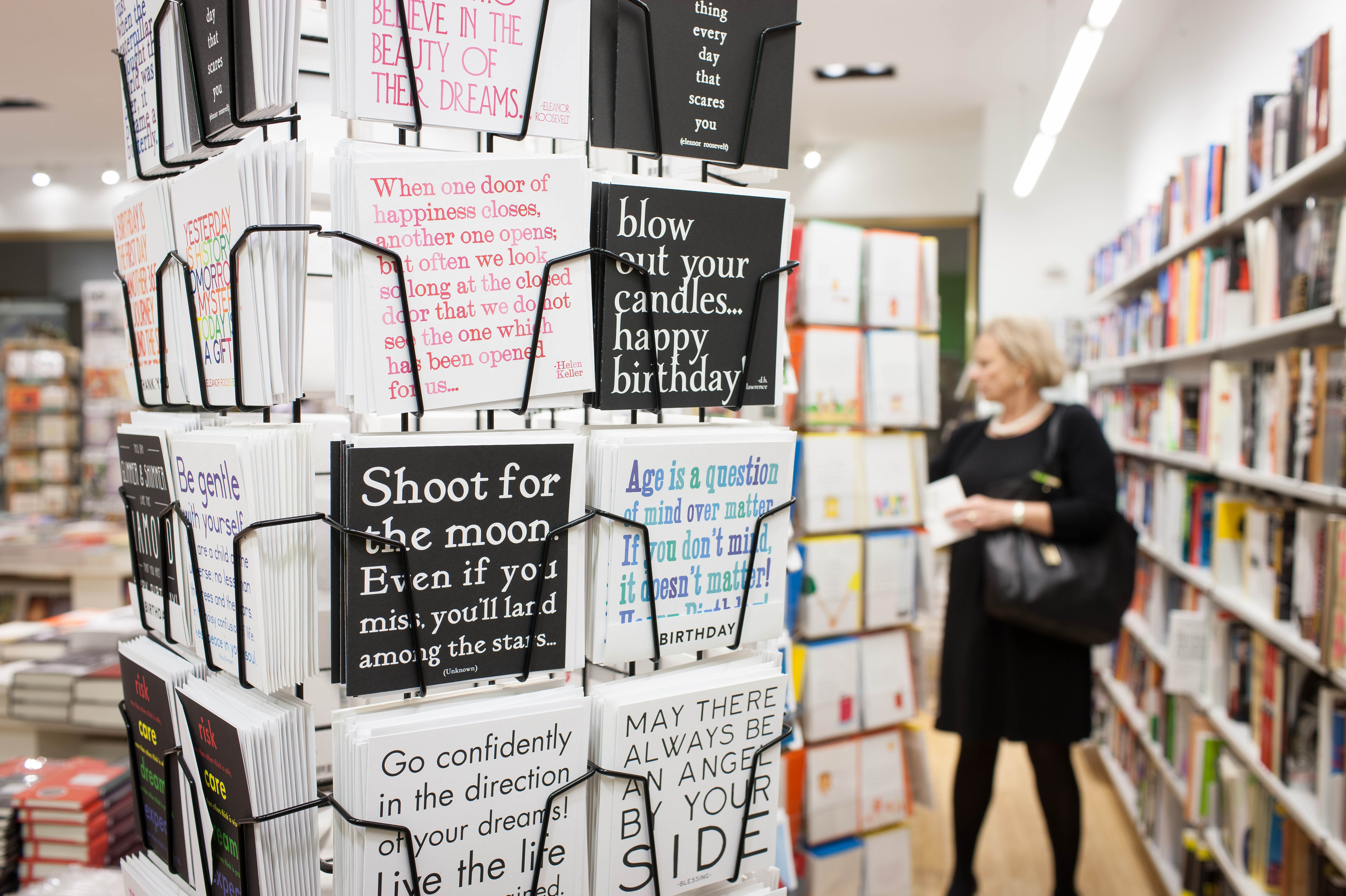 In order to survive, bookstores need to stock more than just books, says John Mutter, editor-in-chief of the online newsletter Shelf Awareness.