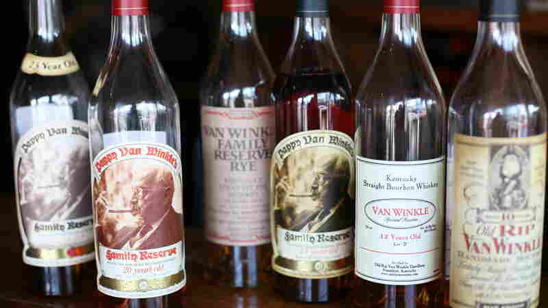 Pappy Van Winkle bourbons at Bourbons Bistro in Louisville, Ky. The spirit was pricey even before a heist at the distillery last October. Now, a 2-ounce pour can cost $100.