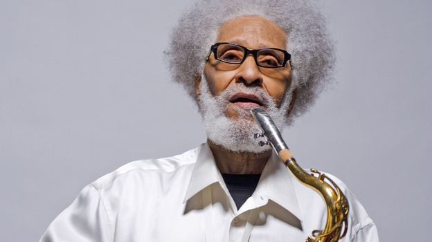 """""""Jazz improvisation is supposed to be the highest form of communication,"""" Sonny Rollins says, """"and getting that to the people is our job as musicians."""" (Courtesy of the artist)"""