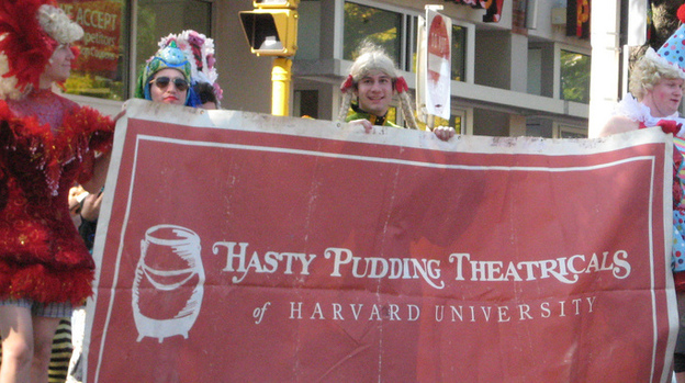 "Harvard's Hasty Pudding Theatricals. According to a recent Gallup poll, only 2 percent of college graduates with $20,000 to $40,000 in undergraduate loans said they were ""thriving."" (Flickr)"
