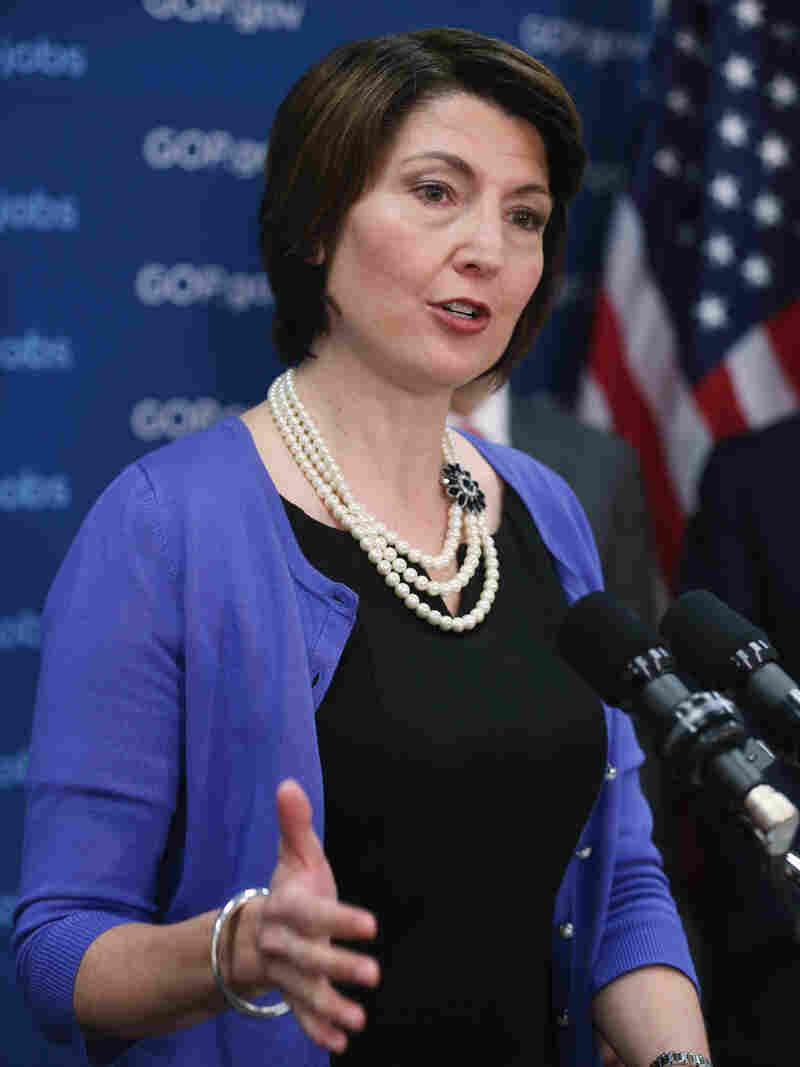 """We have allowed ourselves to be branded [in] a way I do not feel is representative of who we are as Republicans,"" says Rep. Cathy McMorris Rodgers, R-Wash., of her party's negative reputation on women's issues."