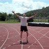 """James Nielsen posted a video of himself running what he says is the first sub-5-minute """"Beer Mile."""""""