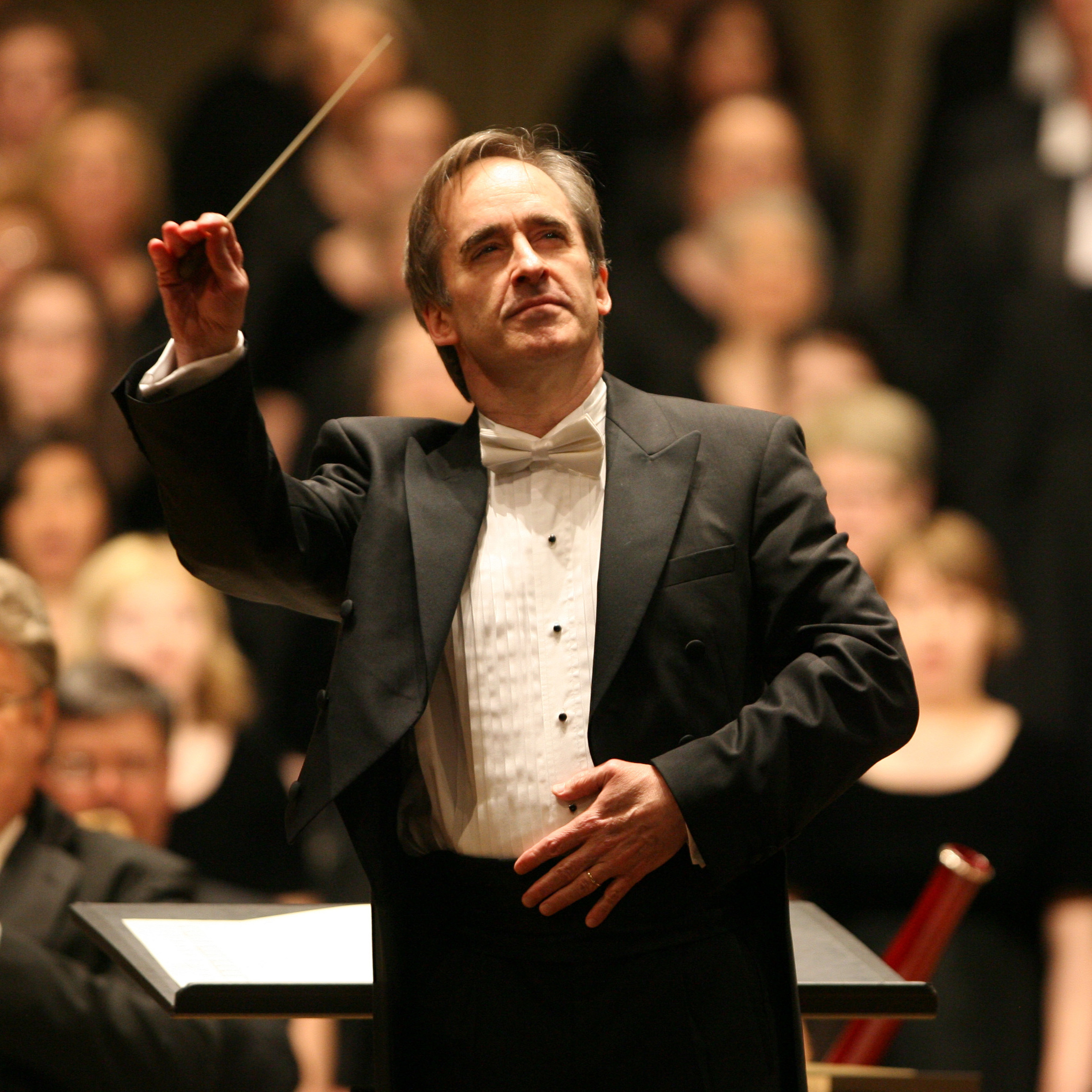 Conductor James Conlon will be leading the Cincinnati Symphony Orchestra and the May Festival Chorus.