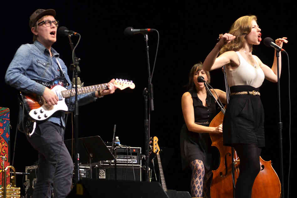 This is Lake Street Dive's second appearance on Mountain Stage.