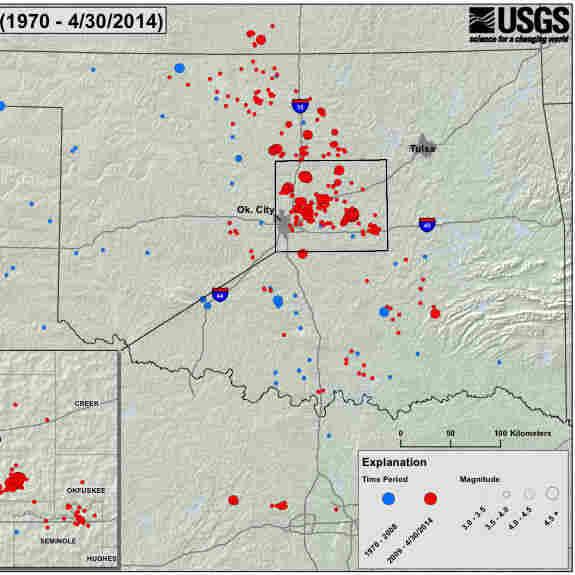 USGS: Okla. At Increased Risk Of 'Damaging Quake'