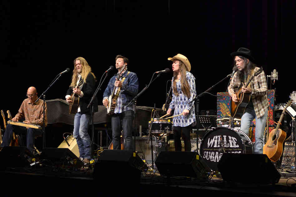 Willie Sugarcapps is Grayson Capps, Will Kimbrough and Corky Hughes, with the husband-and-wife duo Sugarcane Jane.