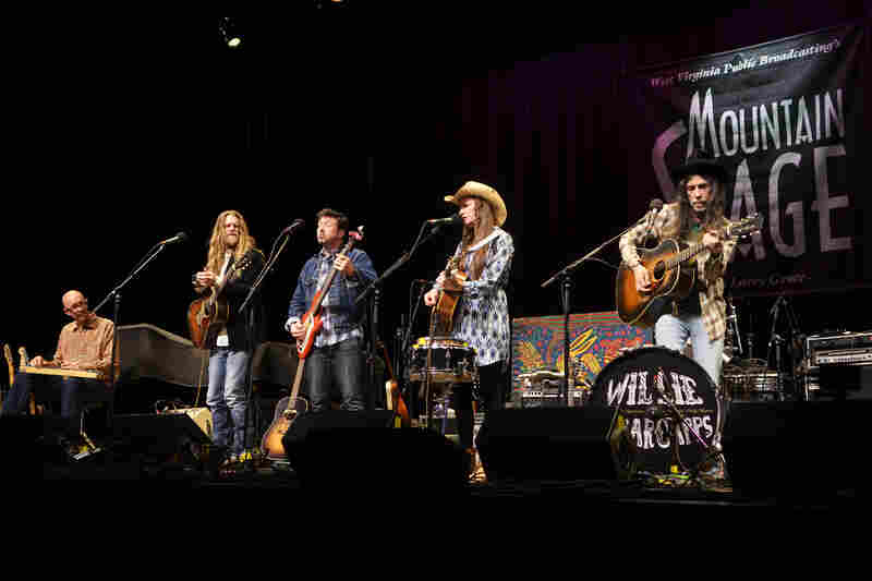 This is the band's first appearance on Mountain Stage as a complete group.