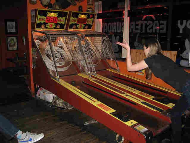 Brewskee-Ball has built a league of competitive Skee-Ball players, but the owners of the name Skee-Ball are not amused.