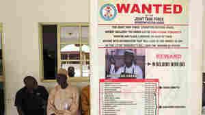 "A ""wanted"" poster for Boko Haram leader Abubakar Shekau in Baga village in northeastern Nigeria, the region where the radical Islamist group is based."
